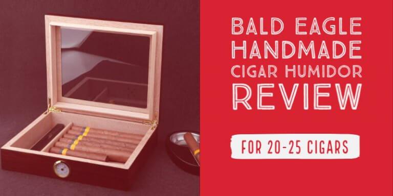 Bald Eagle Handmade Cigar Humidor