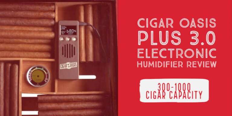 Cigar Oasis Plus 3.0 Electronic Humidifier Review