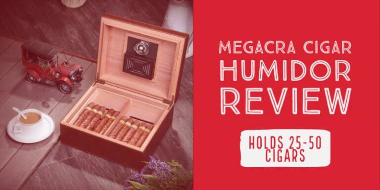 MEGACRA Desktop Cigar Humidor Review