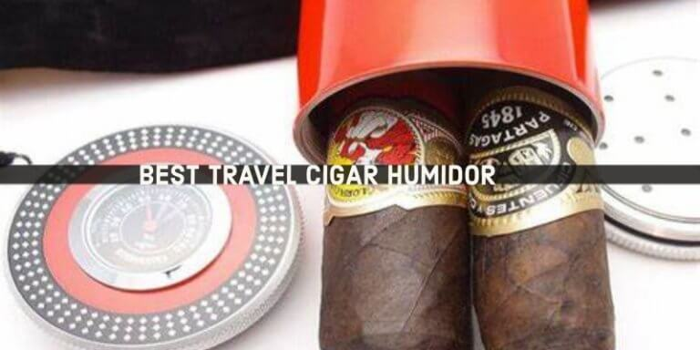 Best travel cigar humidor to choose from