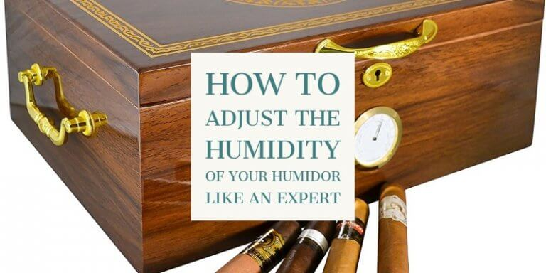 Adjust the Humidity of your Humidor line an expert